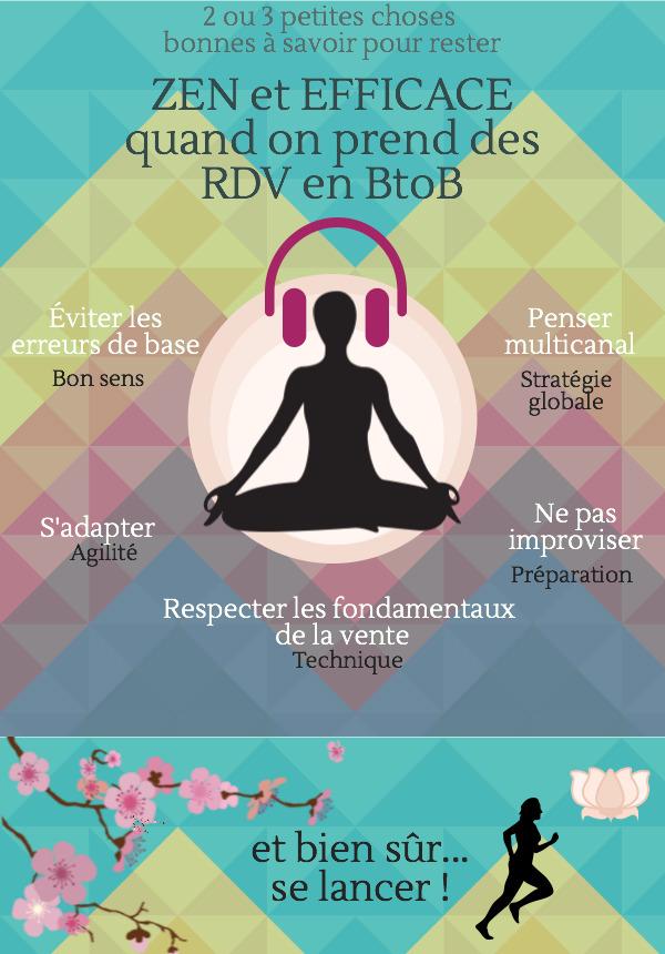 2 ou 3 astuces pour rester zen et efficace en télémarketing (prise de RDv en BtoB)