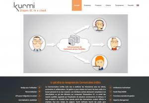 nouveau site web kurmi software