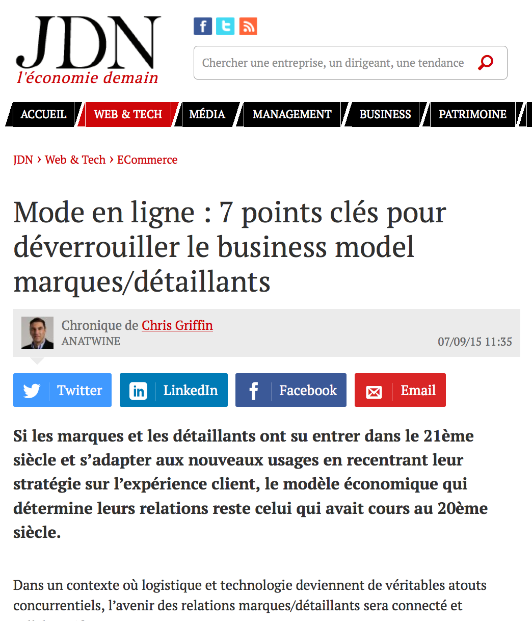 Tribune d'expert JDNET sept 2015