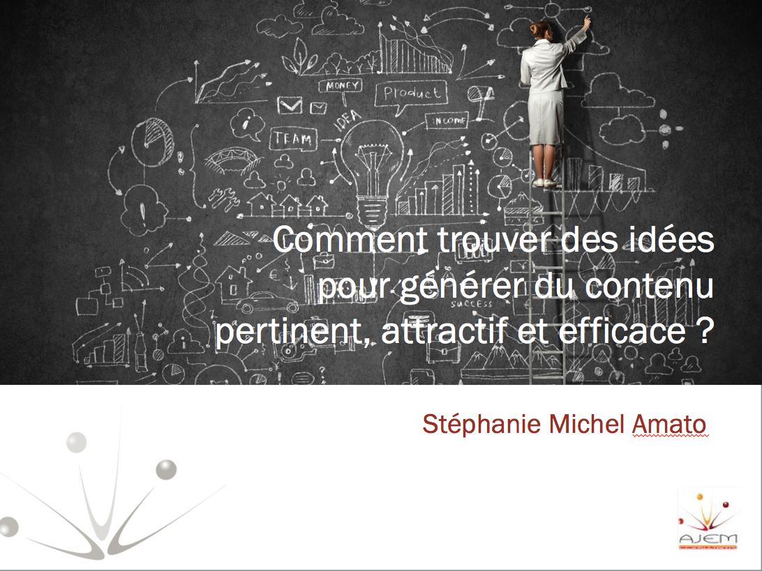 diaporama comment générer du contenu attractif