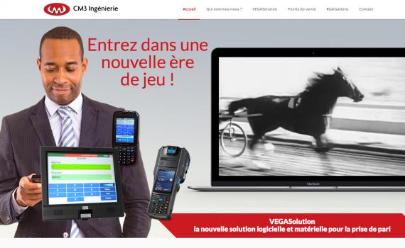 Création site web CM3 Ingénierie
