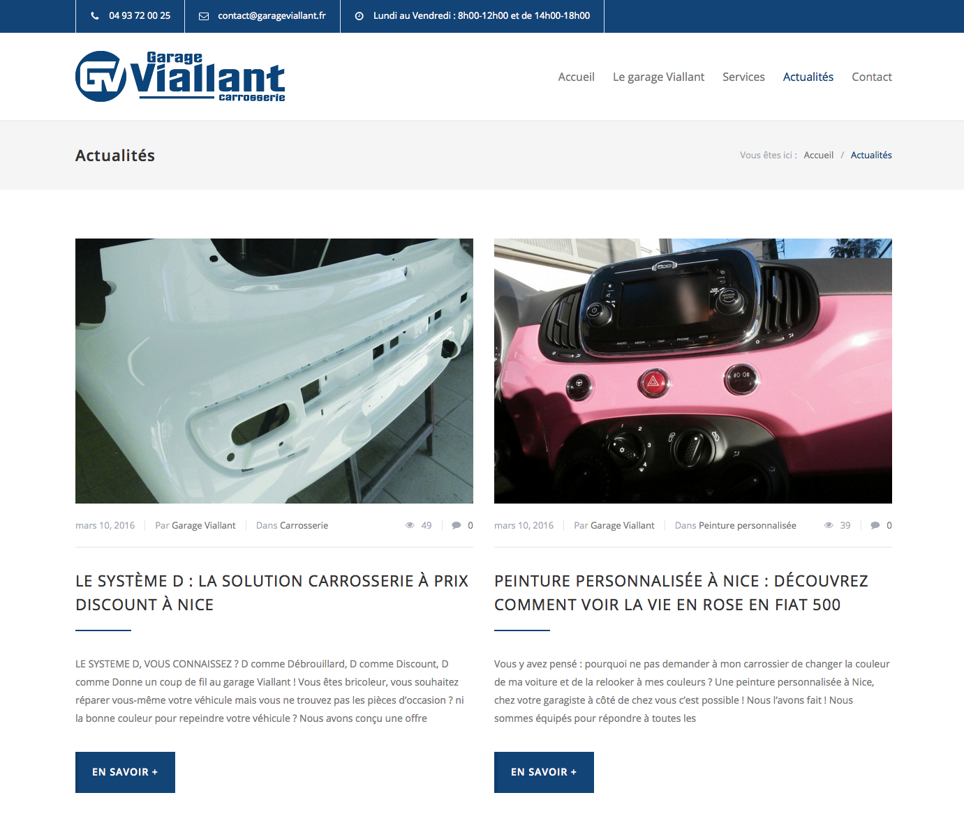 site web garage viallant nice 1