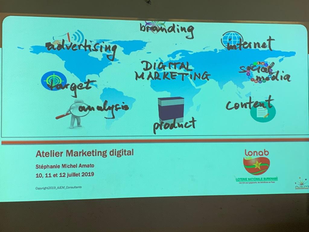 atelier de marketing digital